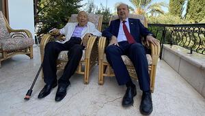 KKTCnin yeni Cumhurbaşkanı Tatardan mazbata öncesi anlamlı ziyaret