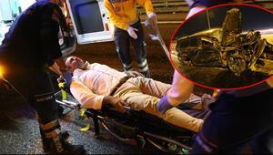 TEM'deki feci kazada Çaykur Rizespor eski yöneticisi Aykut Ferah ölümden döndü