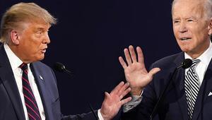 Trump ve Bidenın 22 Ekimdeki canlı yayın tartışması için yeni kurallar
