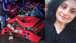Son dakika... TIR'a çarpan otomobildeki Selin öldü, erkek kardeşi yaralı