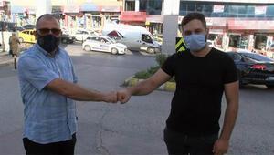 Ümraniye'de bankamatikte bulduğu 9 bin lirayı polise teslim etti