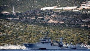 Türk savaş gemileri, Akdenizde bekliyor