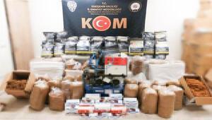 Eskişehirde 474 kilo kaçak tütün ele geçirildi