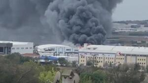 Son dakika haberleri... Silivride fabrika yangını