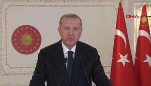 Son dakika haber… Cumhurbaşkanı Erdoğandan, İslam İşbirliği Toplantısı açılışına video mesaj gönderdi