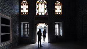 Harem-i Hümayunun restore edilen 3 bölümü ziyarete açıldı