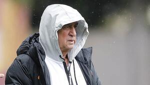 Galatasaray, BB Erzurumspor hazırlıklarına ara vermeden başladı Omar Elabdellaoui...
