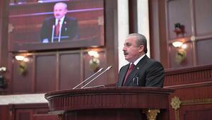 TBMM Başkanı Şentop Azerbaycandan ayrıldı