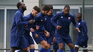 Ankaraspor, Tuzlaspor maçı hazırlıklarını sürdürdü