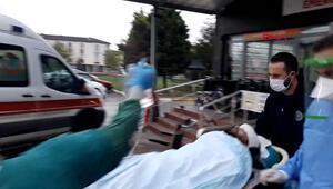 Silah seslerini duyup balkona çıkınca başından vuruldu