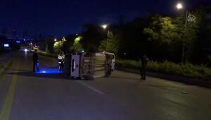Son dakika... Başkentte trafik kazası: 1i ağır 4 yaralı