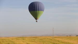 Göbeklitepede Rus turist acenteleri temsilcilerine balonlu tur