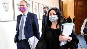 Berlin'de çarşıda pazarda maske zorunlu