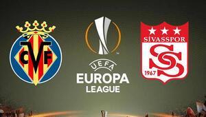 Sivasspor, UEFA Avrupa Liginde sahaya çıkıyor Rakip Villarreal...