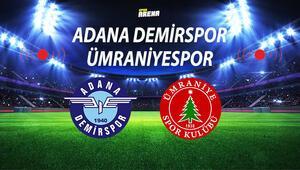 Adana Demirspor Ümraniyespor maçı ne zaman saat kaçta hangi kanalda