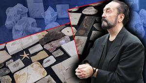 Son dakika... Adnan Oktarın evlerinden çıktı Milyon dolarlık fosiller...
