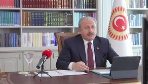 TBMM Başkanı Mustafa Şentop, 12. Uluslararası Dünya Dili Türkçe Sempozyumunun açılışında konuştu