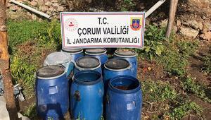 Jandarma'dan kaçak içki operasyonu