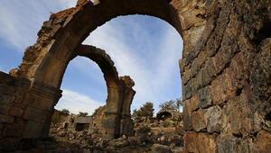 Aksaraydaki Nora Antik Kentinde 30 yıl sonra çalışmalar yeniden başladı