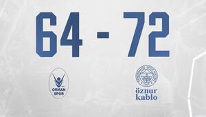 KBSL | OGM Ormanspor 64-72 Fenerbahçe Öznur Kablo