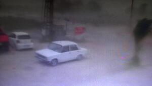 İşte Kumlucadaki şiddetli yağış ve fırtınanın gelişi...