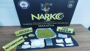 Malatyada uyuşturucu operasyonu: 5 gözaltı