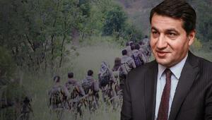 Hikmet Hacıyevden çarpıcı dikkat çeken PKK açıklaması: Karabağda ilk savunma hattında görevlendiriliyorlar