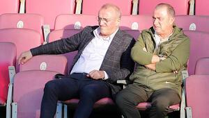 Galatasarayda Büyükşehir Belediye Erzurumspor maçı hazırlıkları