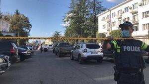 Gürcistan'da 19 kişiyi rehin alan saldırgan gözaltına alındı