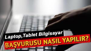 Ücretsiz tablet başvuru ekranı -  MEB ve belediyelerin bedava ücretsiz tablet başvurusu nasıl yapılır