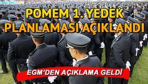 Polis Akademisi duyurdu:  26. Dönem POMEM  1. yedek aday yerleştirme sonuçları açıklandı