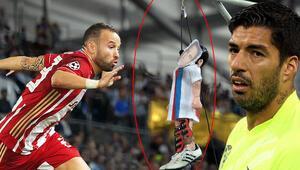 Son Dakika   Şampiyonlar Liginde tarihi gece ve 12 gollü büyük şok Valbuena, Suarez...