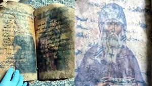 Ceylan derisine yazılmış İncil ele geçirildi