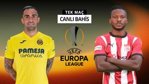 Sivasspor, Avrupa arenasında Villarreal deplasmanında iddaada galibiyetlerine...