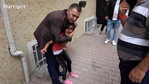 Esenyurtta 7 yaşındaki kızın bileğine demir kapı parmaklıkları saplandı
