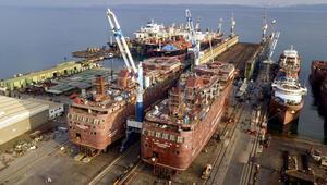 Yalovadaki Tersaneler Bölgesinde kruvaziyer gemi üretimi başladı