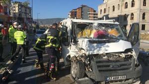 Ispartada kaza: 3 yaralı