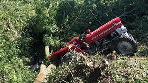 Tek kollu sürücü traktörün altında kalarak hayatını kaybetti