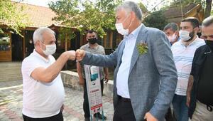 Başkan Karalar, Kozanlı muhtarlarla buluştu