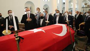 Markar Esayan için cenaze töreni… Cumhurbaşkanı Erdoğan da katıldı…