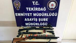 Tekirdağ'da eş zamanlı operasyon 5 gözaltı