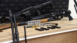Kaçak silah imalathanesine operasyon: 4 gözaltı