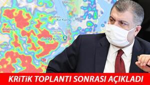 Son dakika haberi: Sağlık Bakanı Fahrettin Koca: İstanbulda vaka sayısı Türkiye genelinin %40ına ulaştı