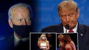 Son dakika haberi... ABD Başkanı Donald Trump ve Joe Biden karşı karşıya geldi