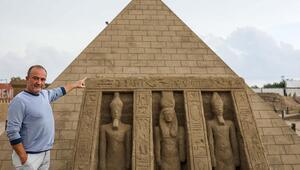 5 yıldır ayakta olan kumdan Keops Piramidi, Guinnesse aday