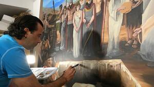 Hasankeyf Müzesinde tarihe can veren çalışma