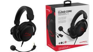 HyperX Cloud Core 7.1 Surround Oyuncu Kulaklığı tanıtıldı
