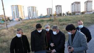 Başkan Palancıoğlu, Anbar mahallesinde inceleme yaptı