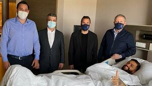 Son dakika | Başakşehirli Junior Caiçara ameliyat oldu