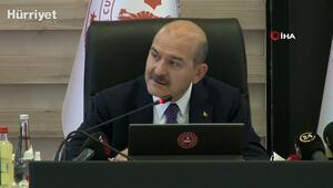 Bakan Soylu, AFAD Kurulu Toplantısında konuştu